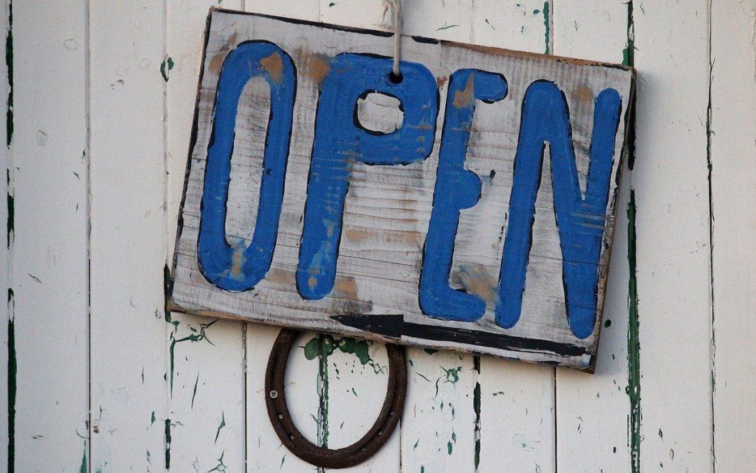 Vollständige Öffnung